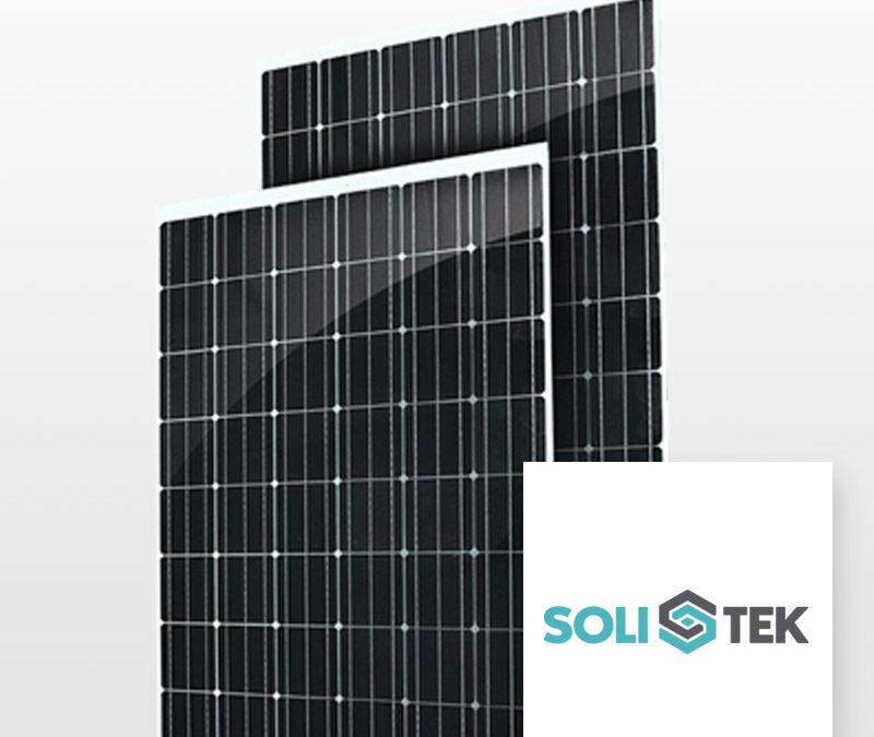 Module Solitek Solidpro GLASS 243Wc