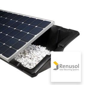 Fixations pour toiture plate Renusol