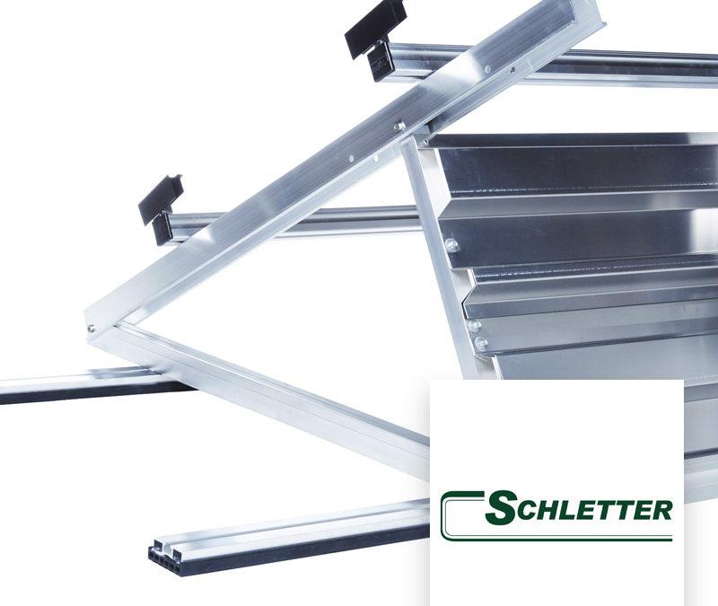 Fixations pour toiture plate Schletter